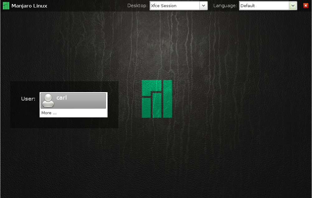 Install Display Managers - Manjaro Linux